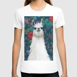 Garden Llama T-shirt