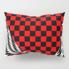 Schwarz rot weiss Pillow Sham