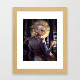 Sun summoner Framed Art Print