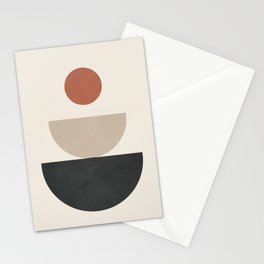 Geometric Modern Art 30 Stationery Cards