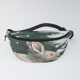 Winter Bunny Fanny Pack