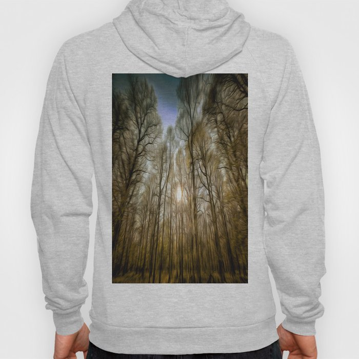 The Forest Sunset Art Hoody