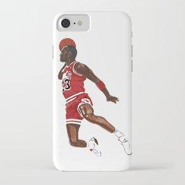 Micheal Jordan - NBA CUBISM iPhone Case