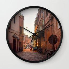 Rising Crescent (Marrakech) Wall Clock
