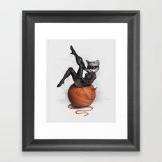 Feline Female Framed Art Print