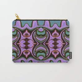 Spiritual Guides Abstract Dimensional Artwork Carry-All Pouch