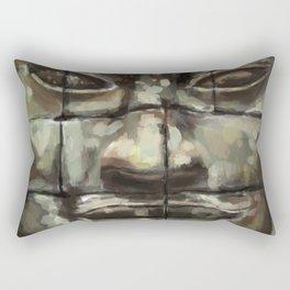 The Face of Angkor Thom Rectangular Pillow
