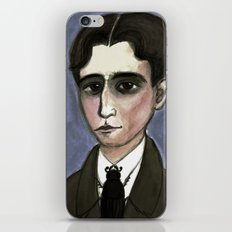 The Metamorphosis of Kafka, Literary Portrait iPhone & iPod Skin
