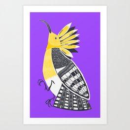 The Hoopoe Art Print