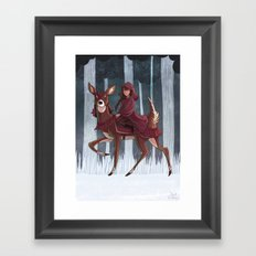 Whitefoot Framed Art Print