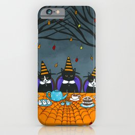 Little Witch Tea Party iPhone Case