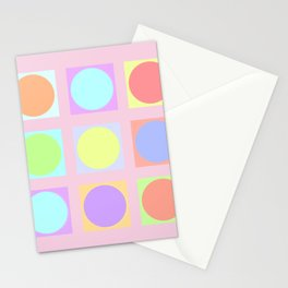 Pastel Dots Stationery Cards