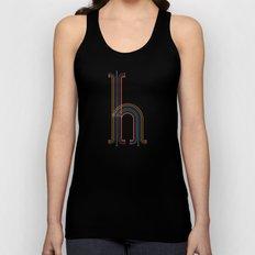 H like H Unisex Tank Top