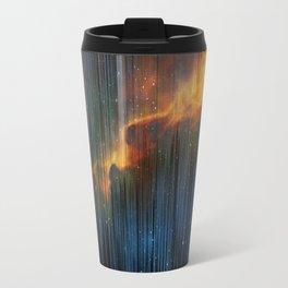Planet Pixel Fall Down Travel Mug