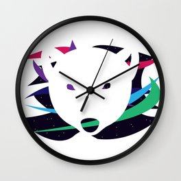 Polar Borealis Wall Clock