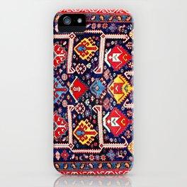 Kuba Afshan East Caucasus Antique Rug iPhone Case