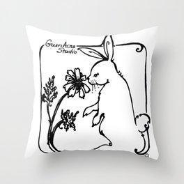 Green Acre Studio Throw Pillow