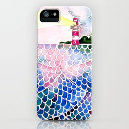 Sea at sunset iPhone Case