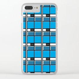 Edificio EASO -Detail- Clear iPhone Case