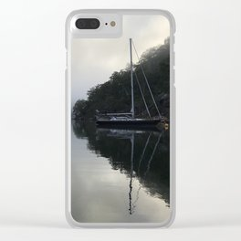 Really Morning Reflection Clear iPhone Case