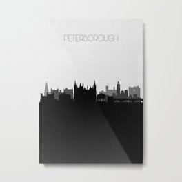 City Skylines: Peterborough Metal Print