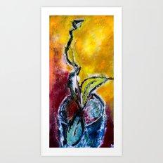 Latent Art Print