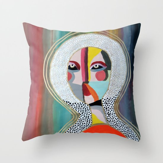 Aura 2 Throw Pillow