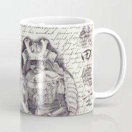 Samurai Observational Drawing Coffee Mug
