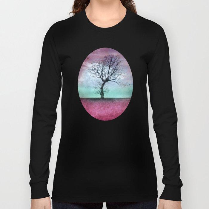 ATMOSPHERIC TREE - Winter Sun Long Sleeve T-shirt
