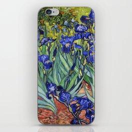 Irises by Vincent van Gogh iPhone Skin