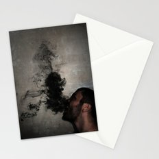 Letting the darkness out Stationery Cards