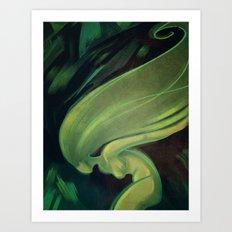woosh Art Print