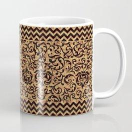 Golden Renaissance Damask Coffee Mug