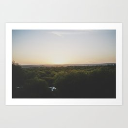 Sunset, Australia Art Print