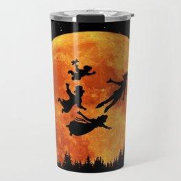 Take Me To Neverland Travel Mug