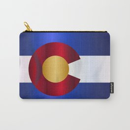 State Flag Of Colorado Carry-All Pouch