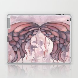 Shimmer Wings, Watercolor Painting, Wall Art, Watercolor Art, Wings, Angels, Ethereal Art Laptop & iPad Skin