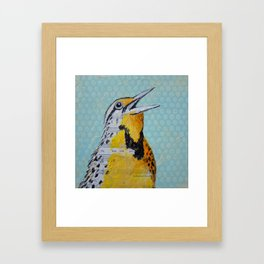 I'm Here With You Framed Art Print