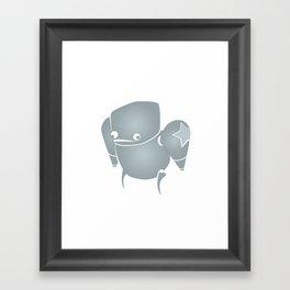 minima - slowbot 001 Framed Art Print