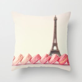 Pastel Sights Throw Pillow