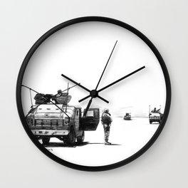 Patrol Wall Clock