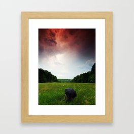 The Force Of Both Worlds  Framed Art Print