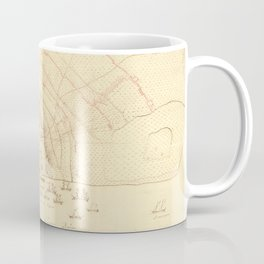 Vintage Map of Charleston SC (1780) Coffee Mug