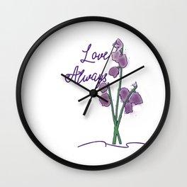 Love Always Wall Clock