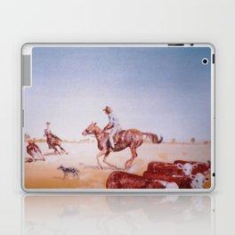 Rousting the Cattle, AUSTRALIA         by Kay Lipton Laptop & iPad Skin