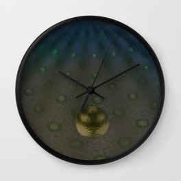 Unfitting Frame Orbitals 3a Wall Clock