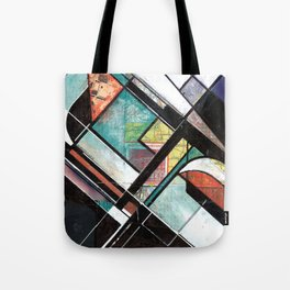 Mapping Moments 001 (Thoughts on Constructivism) Tote Bag