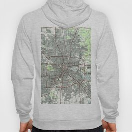 Houston Texas Map (1992) Hoody