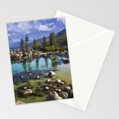 Sand Harbor Morning Stationery Cards