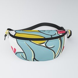 """""""Woman Spring Outdoors"""" Fanny Pack"""